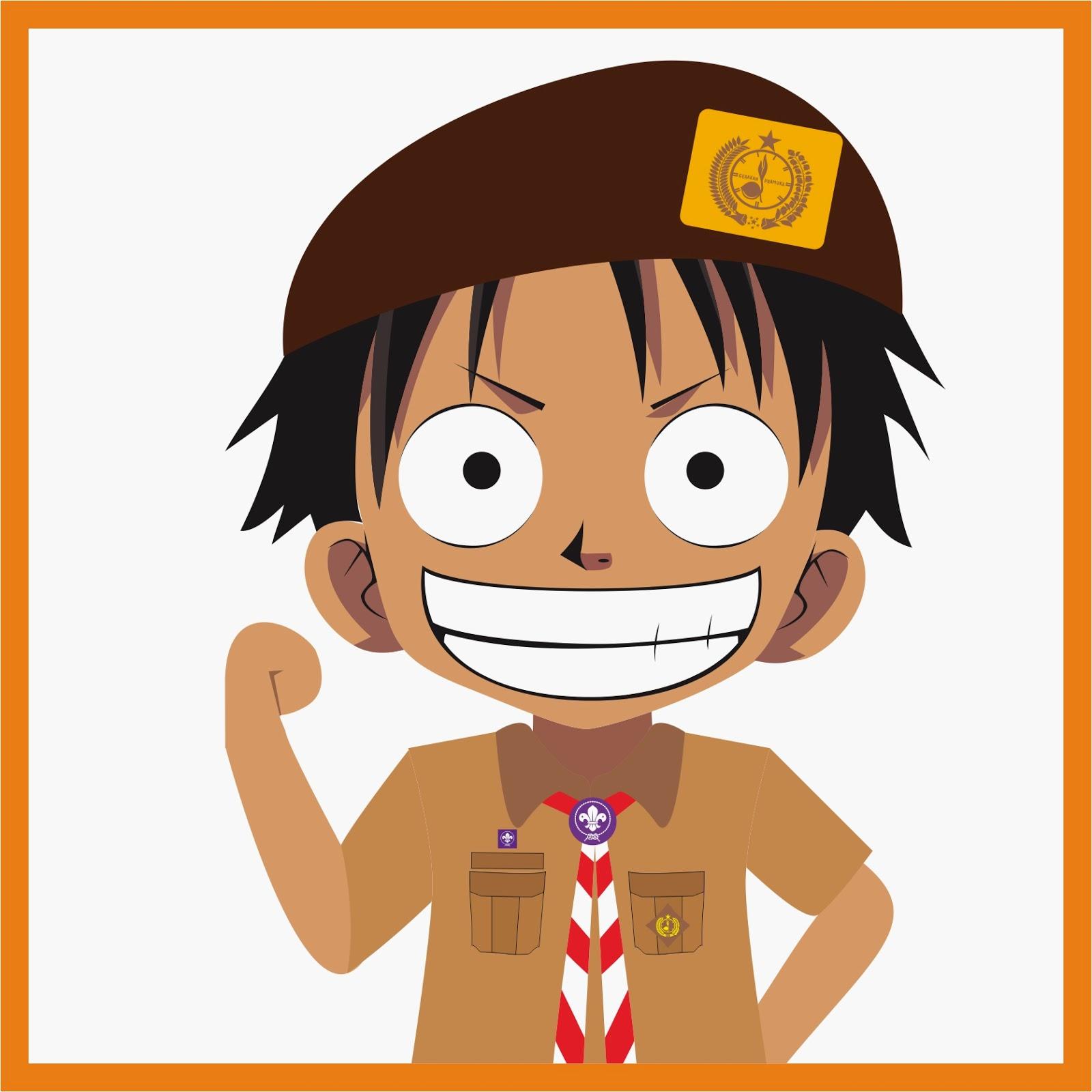 Kumpulan Gambar Kartun Pramuka Pejuang Pramuka