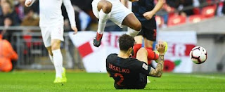 Inter are anxiously awaiting more news after Sime Vrsaljko limped off during Croatia's Nations League match against England.