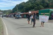 Pemuda Desa Massewae Gelar Aksi Galang Dana Untuk Masamba