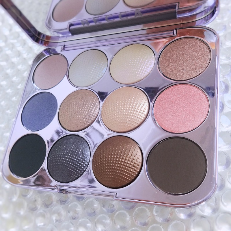 Becca Pearl Glow Eye Palette review swatches