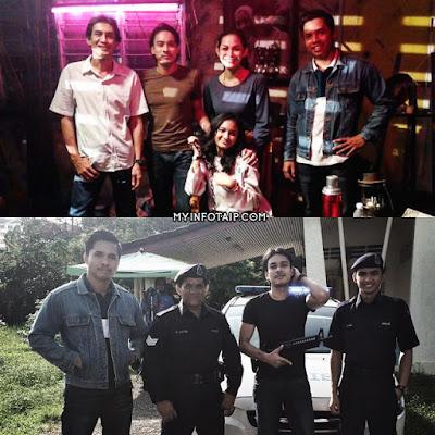 Telemovie Petanda TV9 (Slot Skrin Di 9), Pelakon Utama Telefilem Petanda TV9