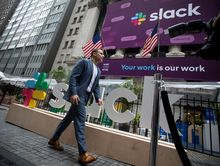 Slack Tops $19 Billion Value in Trading Debut After Shunning IPO.