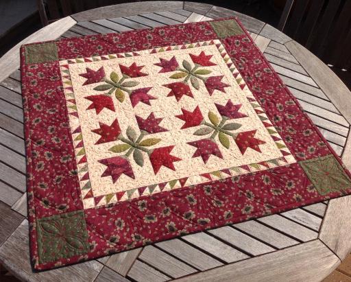 Stunning Idaho Lily Quilt free Pattern