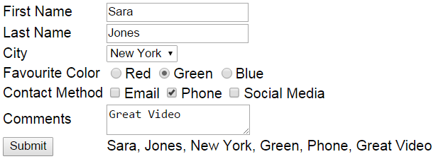 jquery dropdown change event example
