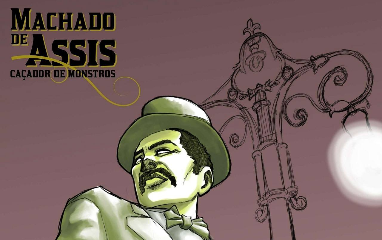 Catarse | Entrevista com Marcelo Alves, roteirista do Mangá Machado de Assis: Caçador de Monstros