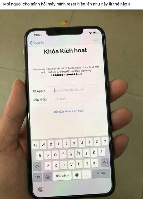Cách mở khóa iCloud bị lock miễn phí từ Apple