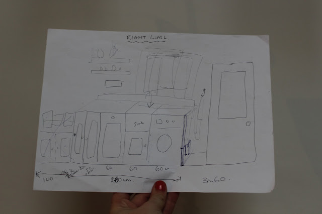 Galley Kitchen Plan