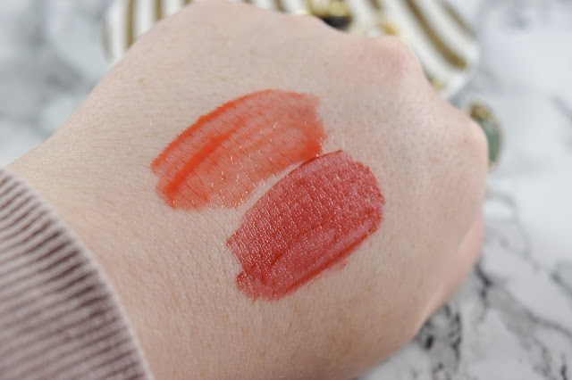 Pixi by Petra GelTint and SilkGloss in FreshGloss & BeachTint Swatches