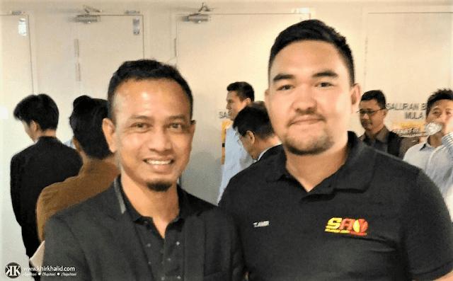 Khir Khalid, Blogger Malaysia,
