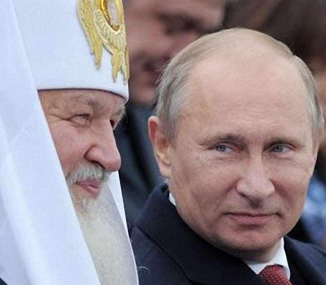 Putin tem necessidade do Patriarcado de Moscou para satisfazer suas ânsias conquistadoras