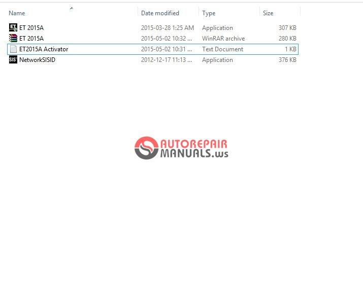 Free Auto Repair Manual   Et2015a Activator