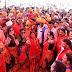 एसडीएम ओर नायब तहसीलदारों ने भगोरिया हॉट में परम्परिक भेषभूषा में जमकर किया नृत्य, पूर्व मंत्री और भाजपा नेत्री ने दिया साथ