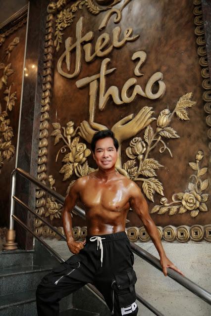 Chia sẻ bí quyết sở hữu cơ bắp cuồn cuộn ở tuổi ngoài 50, Ngọc Sơn tiếp thêm động lực cho người trẻ rèn luyện thể lực