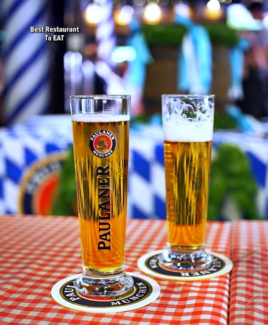 Brotzeit German Bier Bar & Restaurant Paulaner Beer