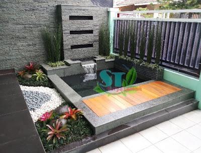 Tukang Kolam Bekasi | Jasa Pembuat Taman di Bekasi - SuryaTaman