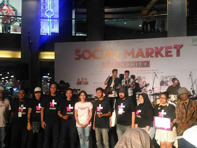 Acara Social Market Community dengan Komunitas Blogger Jakarta