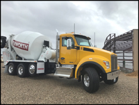 Kenworth T880 Cement Mixer Truck