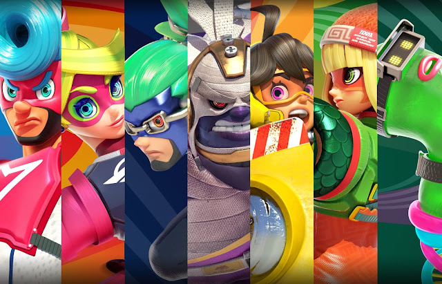 ARMS (Switch): os poderosos e flexíveis lutadores do game