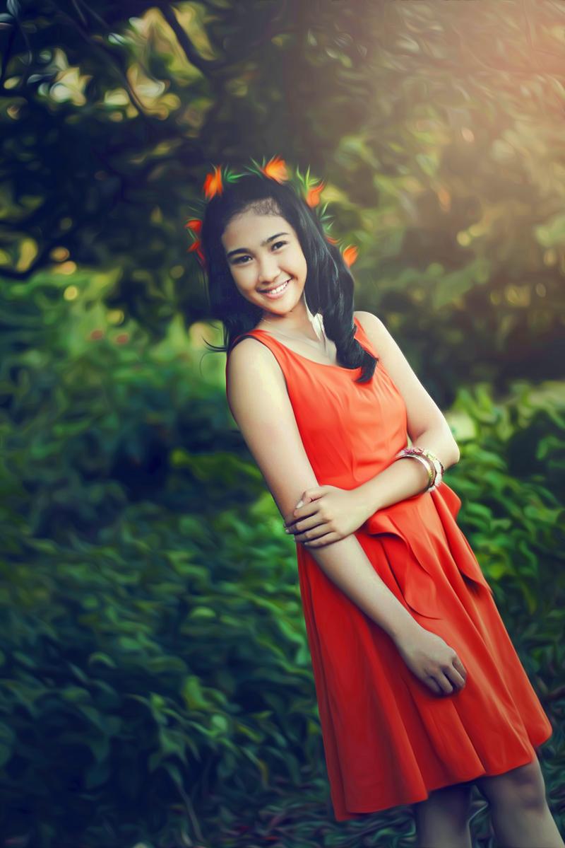 Hunting Foto Model Viona Utami  cewek manis dan imut