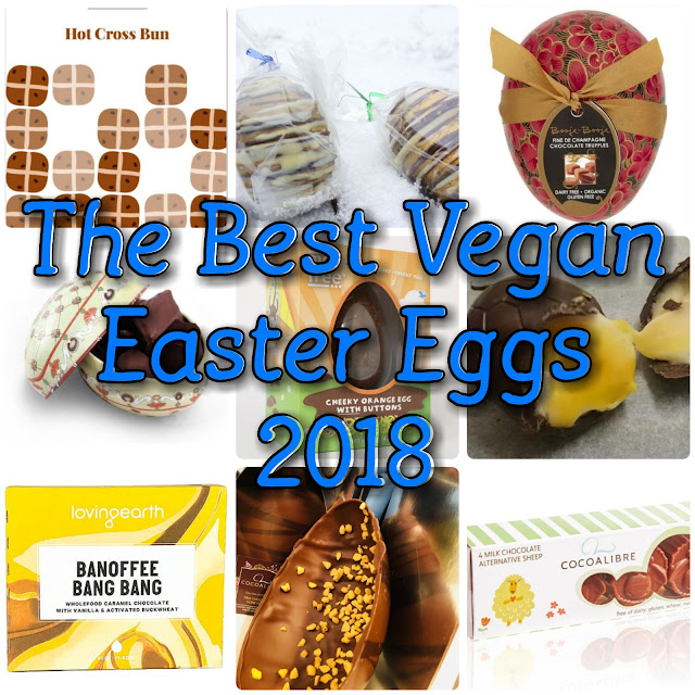 The Best Vegan Milk Chocolate Easter Eggs 2018