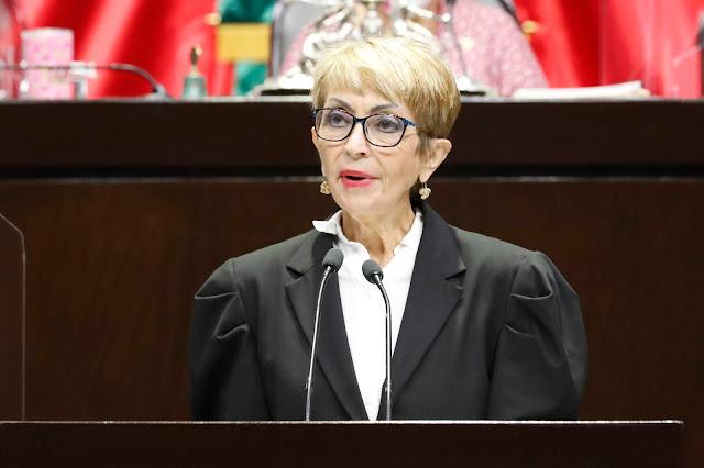 María Ester Alonzo se pronuncia en pro de reformas que endurecen sanciones a servidores públicos por hostigamiento sexual