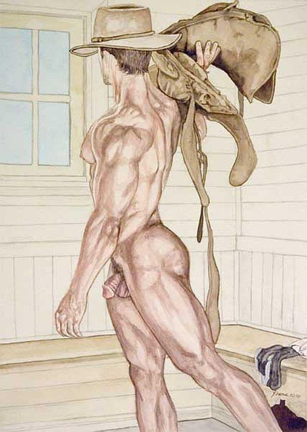 Art Prints Of Male Nude By Edgar Degas