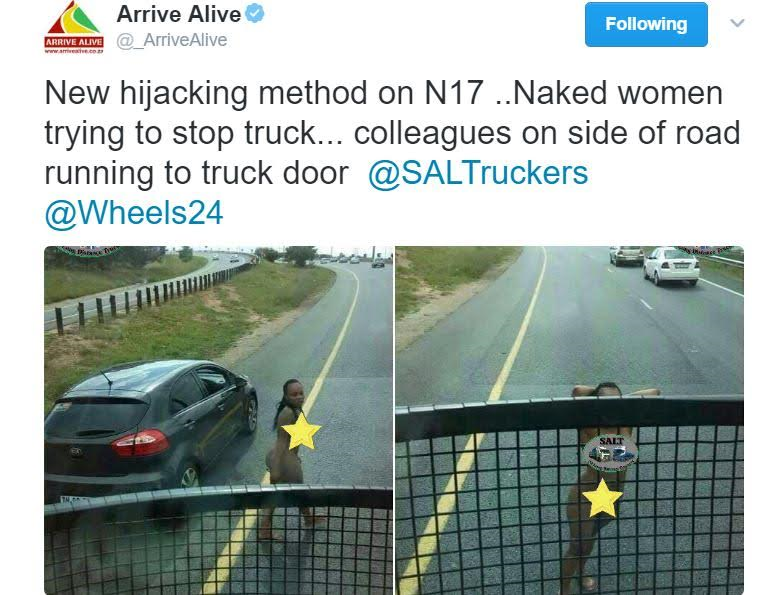 Naked Women Used In Hijacking Cars From Motorists In South -3686