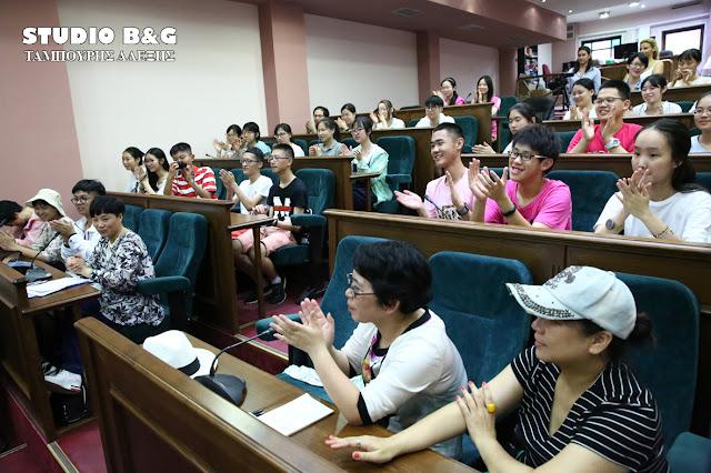 Επίσκεψη Κινέζων μαθητών στον Δήμο Άργους Μυκηνών