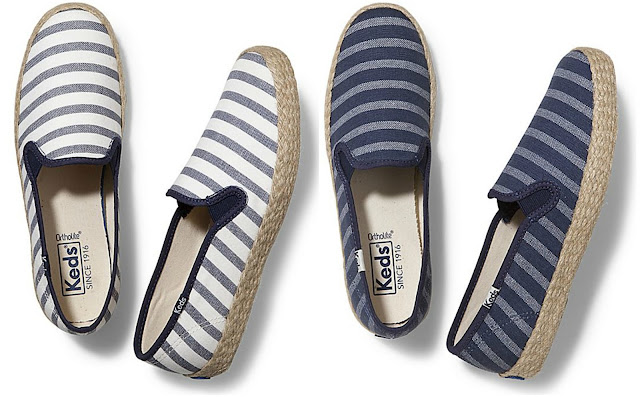 Keds: Champion Slip On Bretons on sale for only $35 (reg $52) + free shipping!