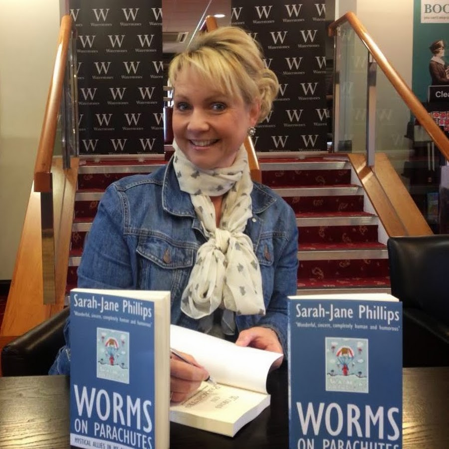 Sarah-Jane Phillips, author of Worms on Parachutes