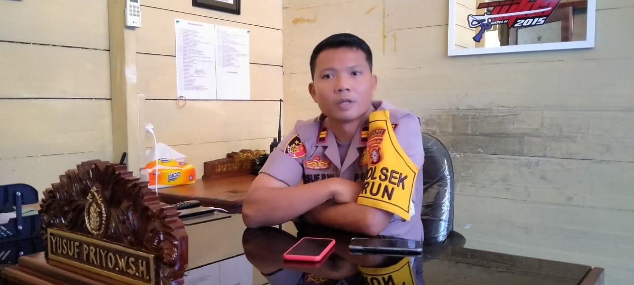 Polsek Kurun Berikan Masukan kepada 13 Kades di Desa Binaan
