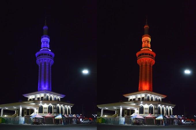 Menara Masjid Agung Al Aqsha Klaten
