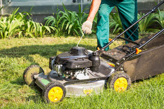 lawn mower hard to start