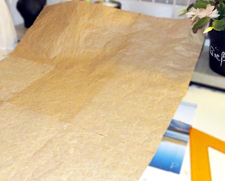 Ein großer Bogen Tetra-Pap