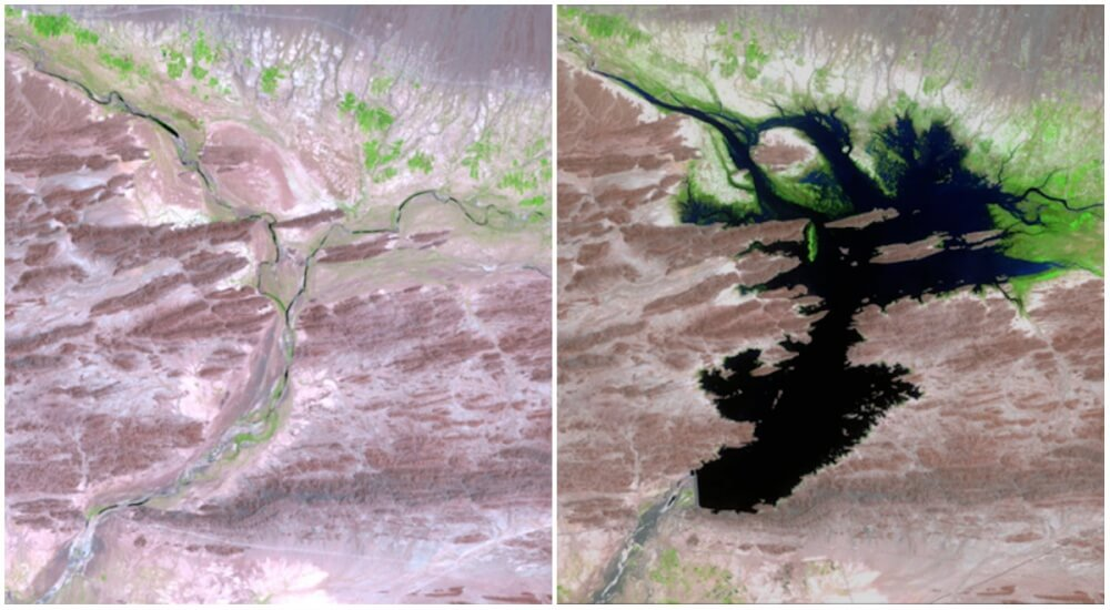 16 Then And Now Photos By NASA That Depict Incredible Changes In The World