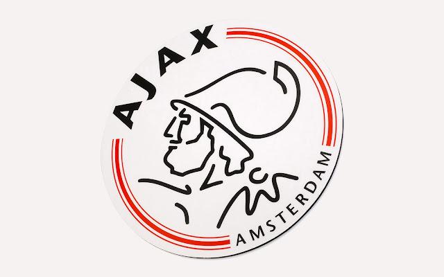 Ajax achtergrond met logo