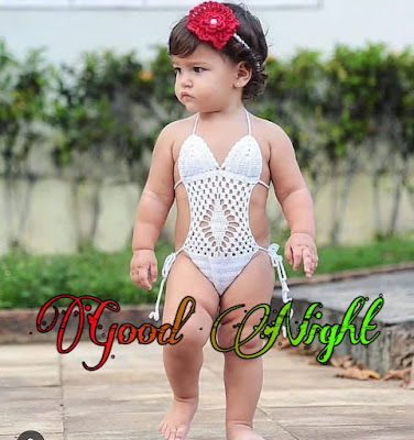 cute baby good night image pics pictures download hd quality share