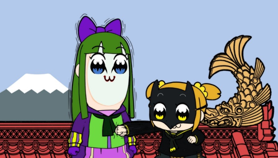 Pop Team Epic - Batman Ninja