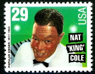 """Nat """"King"""" Cole  US Stamp"""