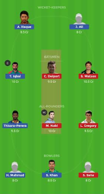 RAN vs DHP dream 11 team | DHP vs RAN