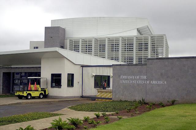 US embassy in Nairobi, Kenya photo