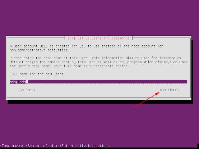nama lengkap ubuntu server