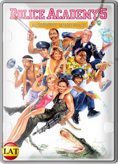 Loca Academia de Policía 5: Operación Miami Beach (1988) DVDRIP LATINO