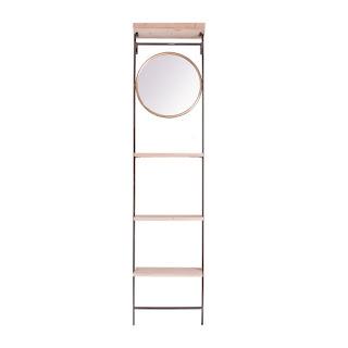 estanteria con espejo industrial