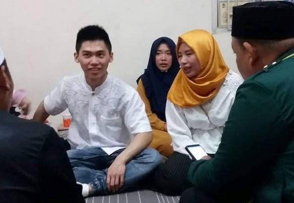 Alhamdulillah, PCINU Bimbing Warga Hong Kong Masuk Islam