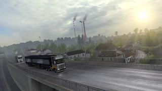 ets 2 realistic graphics mod v2.3.1 screenshots 5