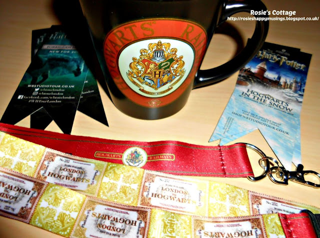 Smiles and beautiful Harry Potter themed gifts from a dear friend.