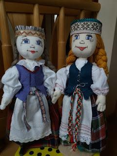 ranku darbo lele tautinis kostiumas saugi lele zaislas vaikams žaislai vaikams dovana mergaitei dovana kalėdoms