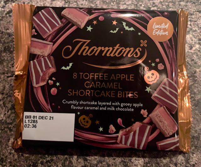 Thornton's Toffee Apple Caramel Shortcake Bites