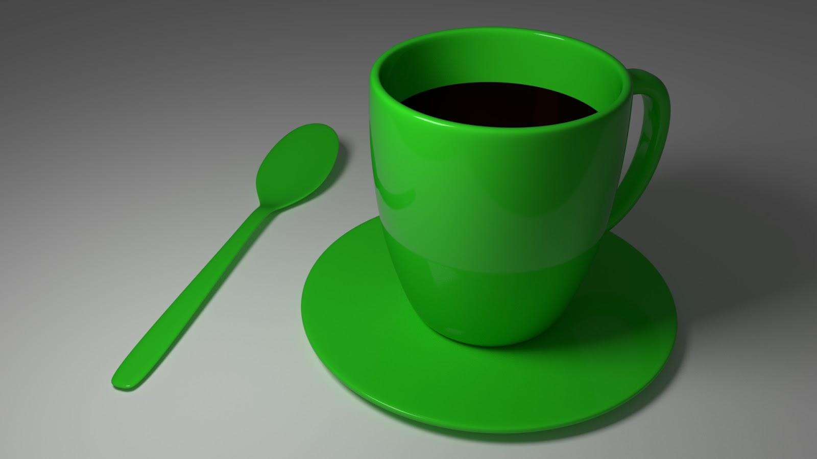 Free 3D Plastic Mug .blend file